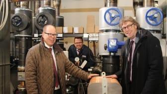Kalte Tage können kommen: Die neue Fernwärmeleitung von  Energieservice Westfalen Weser in Minden ist in Betrieb