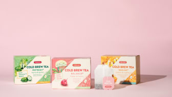 Friggs lanserar kallt vitaminberikat te i tre friska smaker!