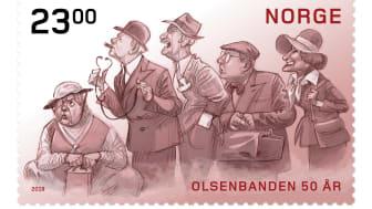 Frimerker Olsenbanden