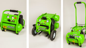 Essve launches three new compressors for small and medium nailing jobs