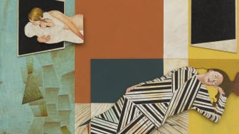"Jens Fänge, ""Within"", assamblage, 99x80cm, 2015"
