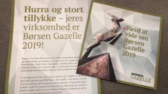 Zleep Hotels modtager Børsen Gazelle 2019