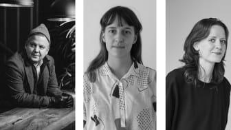 Foto från vänster: Conny Palmkvist: Mikael Tannus; Humle Rosenkvist: Gustav Sjöberg; Sofia Mollberg: Daniela Ferro