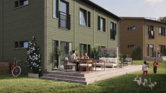 OBOS säljstartar bostadsrätter i populära Margretelund