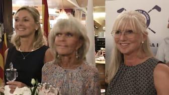 Marie Törnberg från Lundsbrunns GK och Lotta Wångdahl från Lidköpings GK, vann var sin klass i Prinsessan Birgittas Golf Tournament på Santa Ponsa GK.