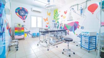 Biltema Fondation donerar 2,8 mkr till KidsOR för att skapa den första operationssalen tillägnad barn i flyktingläger