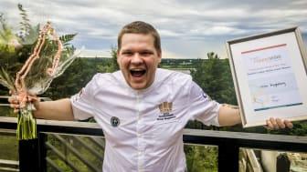 Victor Magdeburg från Högberga Gård tog hem segern i juniorklassen i Copper Skillet och får därmed representera Sverige i Europafinalen.