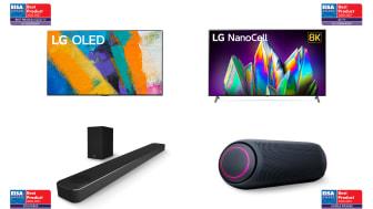 Disse LG-produktene stakk av med priser under EISA Awards 2020.