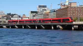 MTR Express är första kvartalet 2018 återigen punktligast på sträckan Stockholm-Göteborg jämfört med SJs snabbtåg och inrikesflyg på samma sträcka.