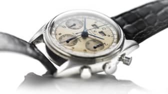 "Rolex: Model Dato-Compax Chronograph ""Jean-Claude Killy"". Estimate: DKK 1 million."