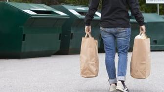 Trosa får en till återvinningsstation