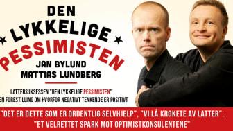 """Skrattsuccén """"Den Lyckliga Pessimisten"""" till Oslo i maj!"""