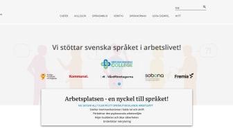 Ny webbplats för arbetsgivare som vill ge språkstöd