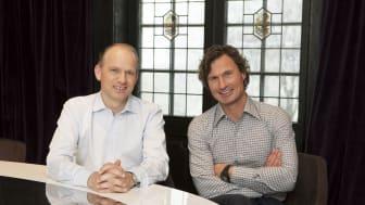Petter Stordalen og Torgeir Silseth, Foto: Tord-Erik Andresen