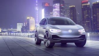 Volkswagen kører ind i fremtiden på ren el: I.D. CROZZ
