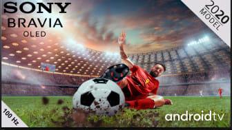 Vivez l'expérience absolue du championnat d'Europe de football sur un téléviseur Sony grand format
