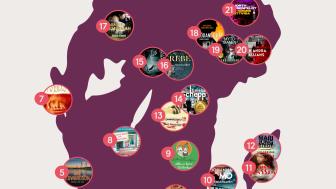 Upptäck Sverige med böcker: Nextory släpper karta för sommarens läsning