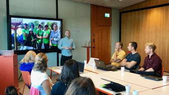 Simon Strandvik, Greentime, håller workshop