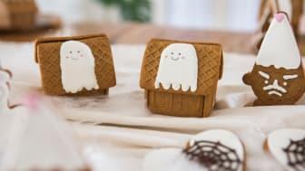 Gille Mini Pepparkakshus, Pepparkaksfigurer Halloween