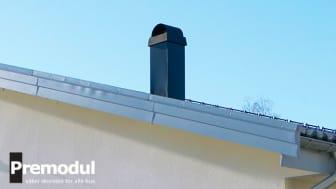 Uppdaterade Premodul snygg och flexibel skorsten