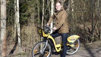 Swecon suunnittelija Mikko Raninen on ollut mukana suunnittelemassa järjestelmän laajennusta ja aikoo ottaa pyörät käyttöön koko kesäksi.