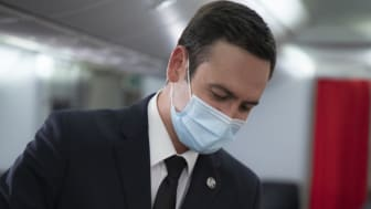 Surgical Mask On Board Air France