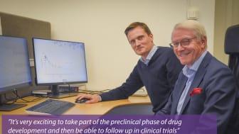 Johan Bylund, Senior Scientific Advisor, and Bengt Dahlström, Chief Scientific Officer at CTC.