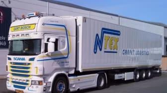 Nya skåptrailers för Carpet Logistics ger ökad säkerhet och prestanda