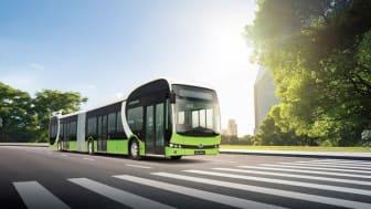 I juni får Norrköping sina första elbussar