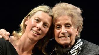 Northumbria academic Jane Arnfield and holocaust survivor Zdenka Fantlová