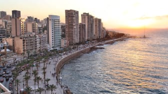 In late June, SAS will begin flying twice weekly from Stockholm to Beirut. Photo: Shutterstock