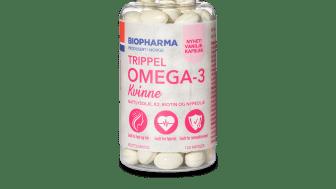 Biopharma Omega-3 Kvinne