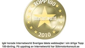 MyNewsdesk bland Sveriges 100 bästa sajter och 1:a plats för bäst SEO i #Topp100