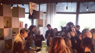 Press meeting with Jamie Oliver – a success!