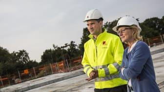 Arkitektgruppen hjælper ledige i job på virksomhedens byggepladser på Fyn