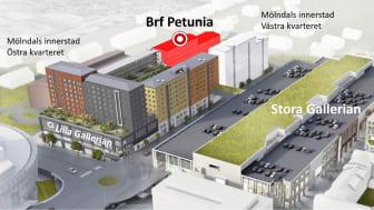 Riksbyggen bygger 68 nya bostäder i Mölndals innerstad