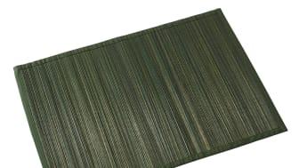 Villeroy & Boch rappelle les sets de table Bamboo en vert foncé et marron