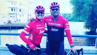 Årets cykling för att samla in pengar till barn med särskilda behov blev stor succé för Måns Möller