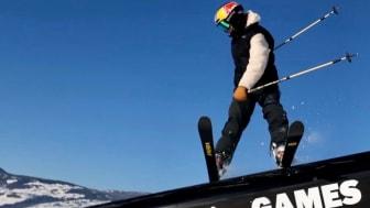 Jennie-Lee Burmansson gjorde gjorde en riktigt bra slopestyle X Games-final i Hafjell och blev femma. Bild: Niklas Eriksson (Fri att användas redaktionellt)