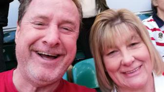 Geoff Bodman with his wife Julie Bodman