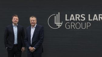 Jacob Brunsborg, Chairman der Lars Larsen Group (Sohn des Unternehmensgründers Lars Larsen) und Jesper Lund, CEO der Lars Larsen Group