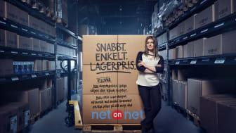 NetOnNet lanserar nytt reklamkoncept med start 5 februari