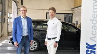 Johan Regefalk, vd KGK och Henrik Ivarsson, KGK Academy