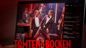 """BILJETTRUSNING TILL ONLINE-EVENTET """"TOMTEN & BOCKEN"""""""