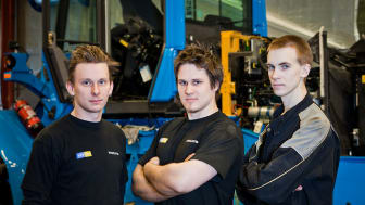 De byggde rekordmaskinen Volvo L60G PCP