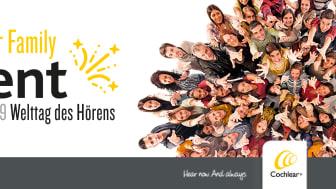 Welttag des Hörens am 3. März – Mitglieder der Cochlear Family feiern gemeinsam in Hannover