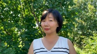 Keni Ren, doktorand på Institutionen för tillämpad fysik och elektronik vid Umeå universitet. Foto: privat