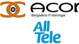 AllTele utökar samarbetet med Acon rörande leverans, uppsättning och IT-Drift till fast pris av ny serverplattform samt CoLocation