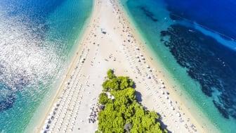 Strand Brac, Kroatien