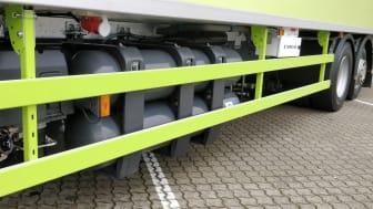 Scania P 340 - 4x118 liters gastanke